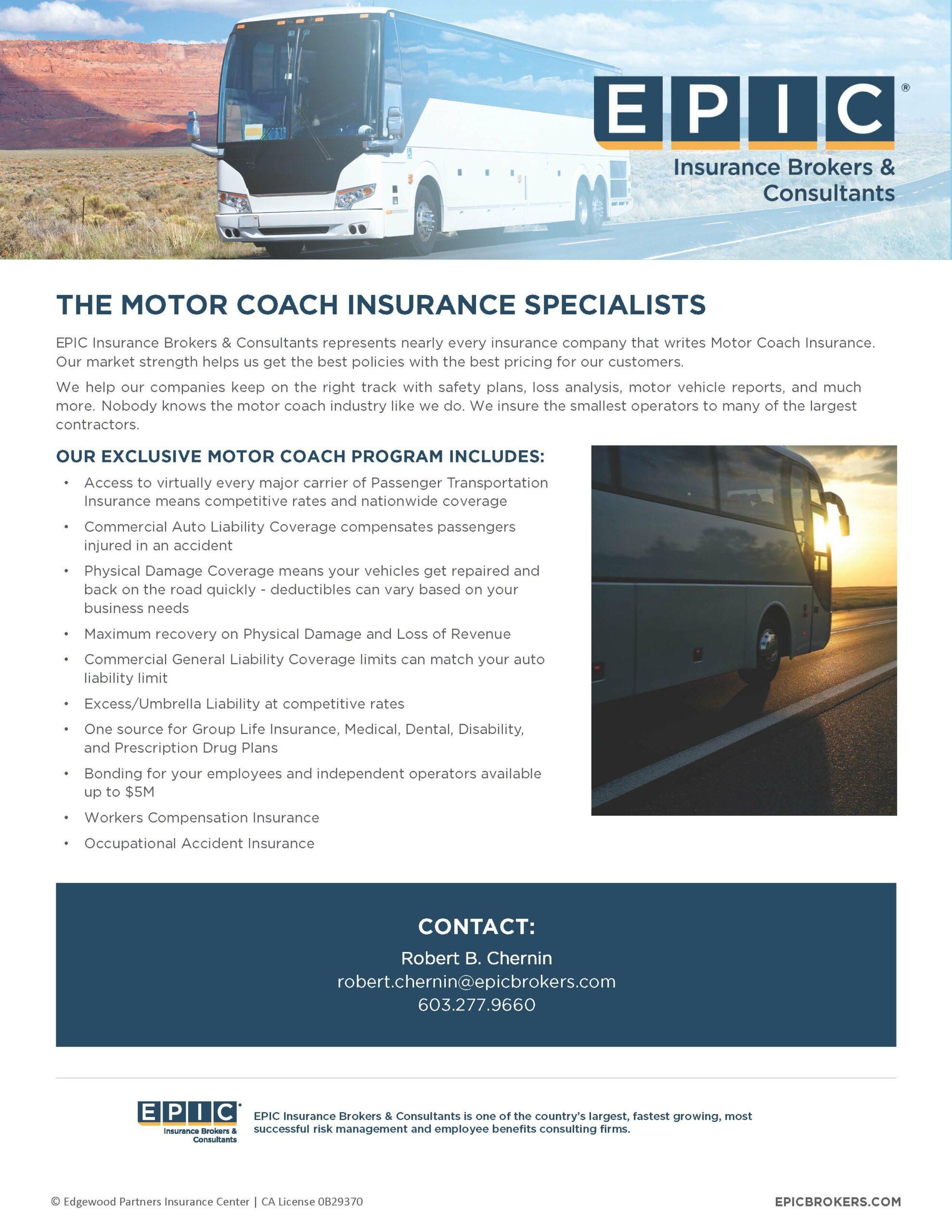 Motor Coach Insurance